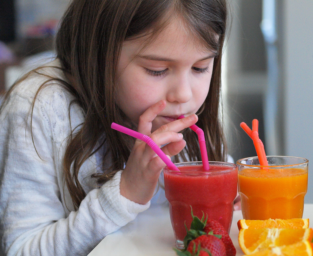 Best Tasting Healthy Smoothies  Rainbow Smoothies A Tasting Activity for Kids Happy