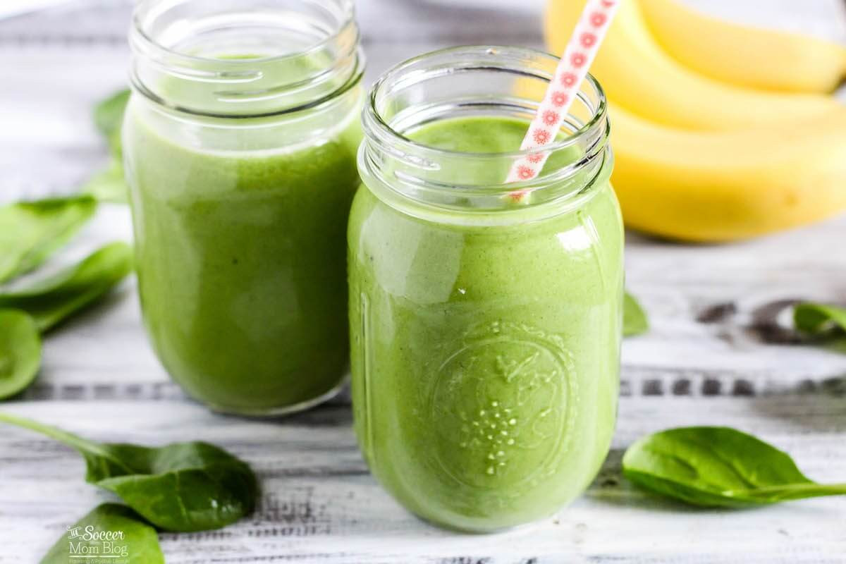 Best Tasting Healthy Smoothies  The BEST Tasting Green Protein Smoothie Ever The Soccer