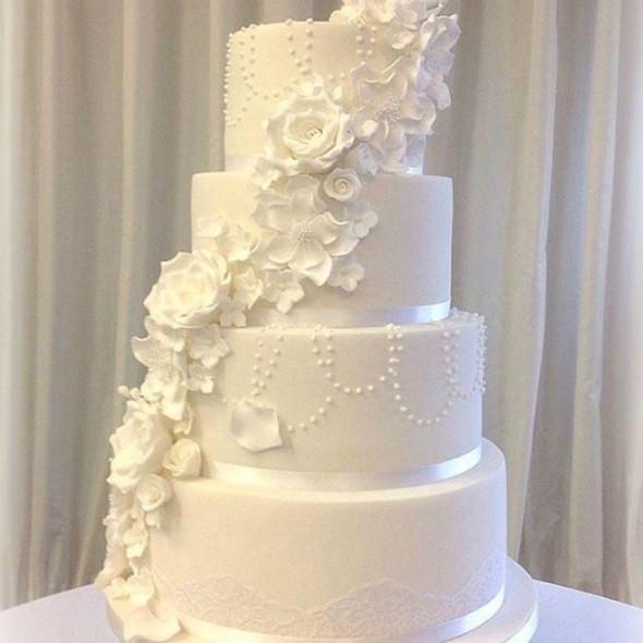 Best Wedding Cakes Ever  Best wedding cake ever Good Housekeeping