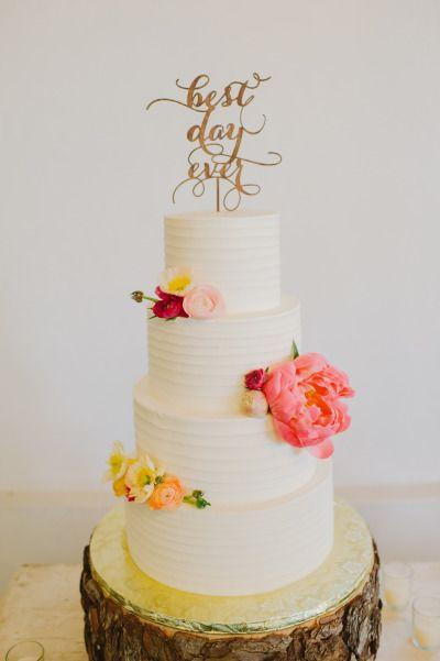 Best Wedding Cakes Ever  Best Day Ever Wedding Cake Topper Soirée Collection