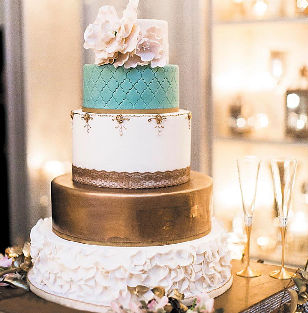 Best Wedding Cakes New Orleans  Taking the cake wedding cake trends in 2017