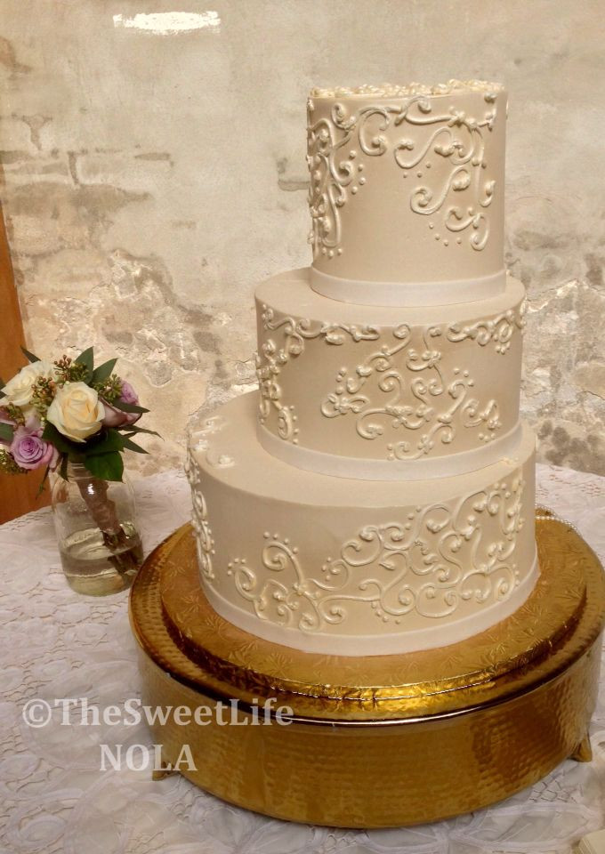 Best Wedding Cakes New Orleans  17 Best images about Custom Wedding Cakes by The Sweet