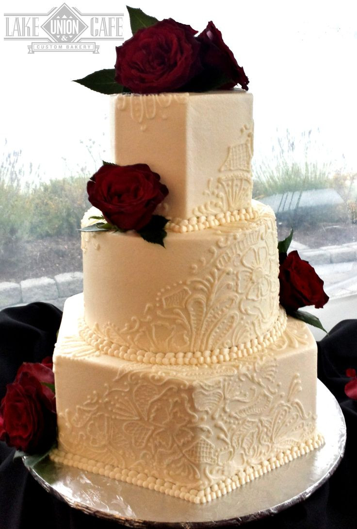 Best Wedding Cakes Seattle  110 best Cakes we ve made images on Pinterest