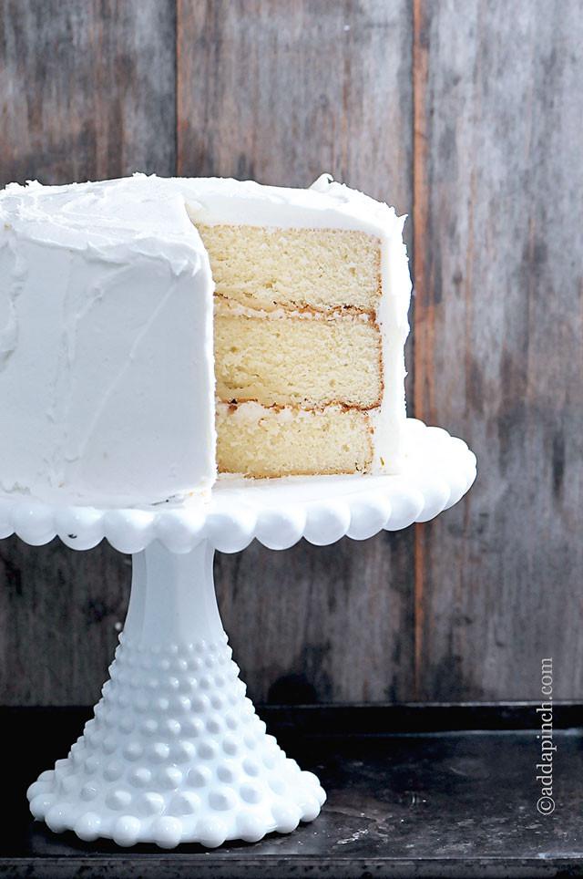 Best White Wedding Cake Recipe  The Best White Cake Recipe Ever Add a Pinch