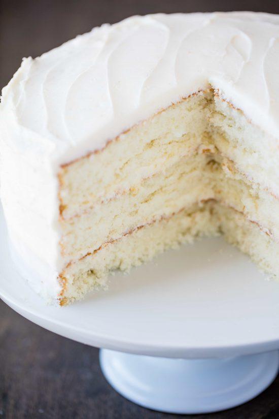 Best White Wedding Cake Recipe  The Most Amazing White Cake