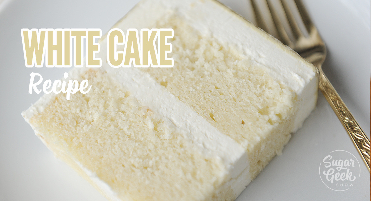 Best White Wedding Cake Recipe  White Cake Recipe From Scratch The plete Guide