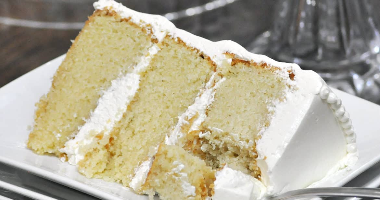 Best White Wedding Cake Recipe  Best Vanilla Cake Recipe Ever • Cakes
