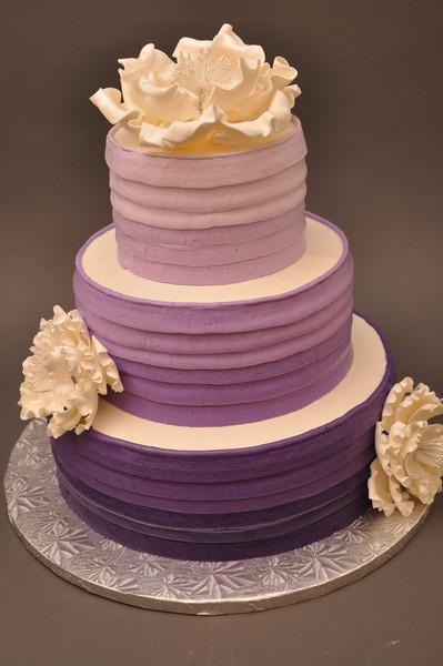 Bethel Bakery Wedding Cakes  Ombre Buttercream Bethel Park wedding cake