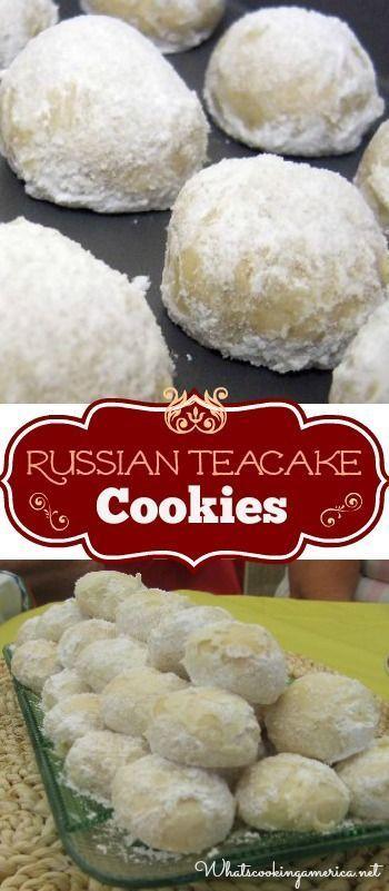 Betty Crocker Mexican Wedding Cakes  Russian Tea Cake Cookie Recipe