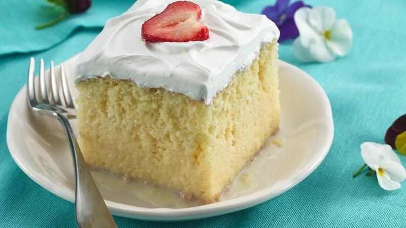 Betty Crocker Mexican Wedding Cakes  Tres Leches Cake Recipes BettyCrocker