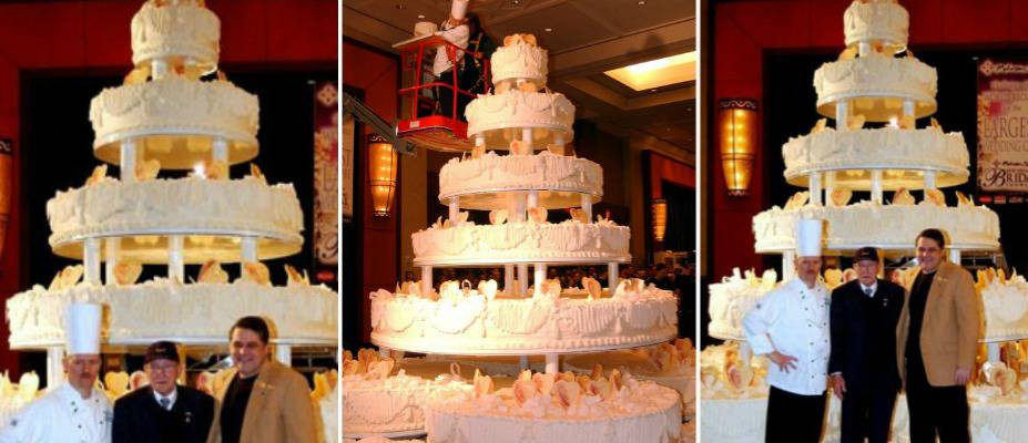 Biggest Wedding Cakes Ever  9 OF THE BIGGEST WEDDING CAKES IN THE WORLD