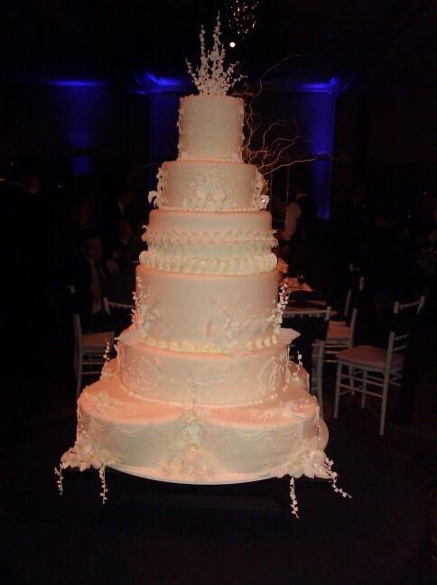 Biggest Wedding Cakes Ever  Biggest wedding cake I ve ever worked on Cakes
