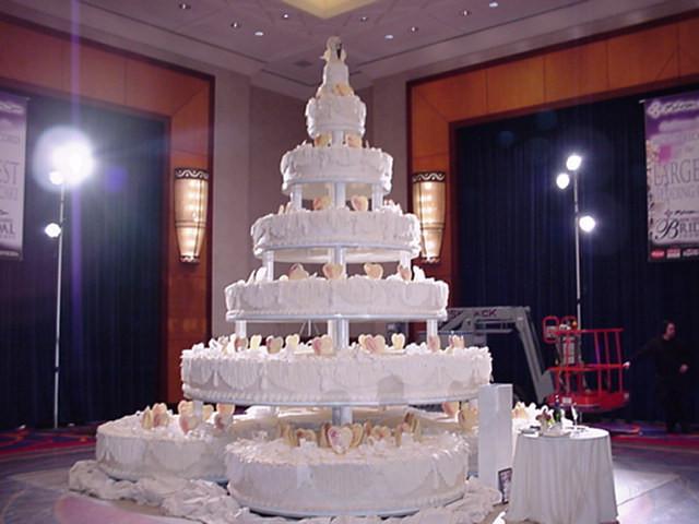 Biggest Wedding Cakes Ever  Heaviest Wedding Cake in the World
