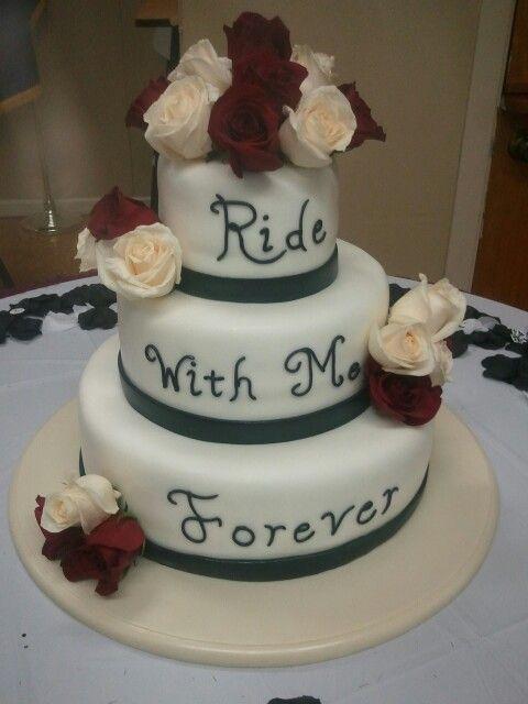 Biker Wedding Cakes  Pin Biker wedding cakes on Pinterest