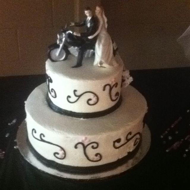 Biker Wedding Cakes  Biker wedding cake Wedding stuff