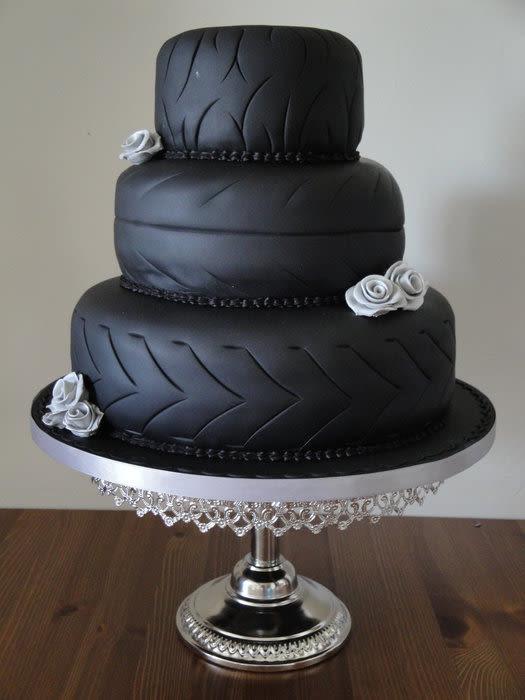 Biker Wedding Cakes  Biker Wedding cake cake by Jeanette CakesDecor
