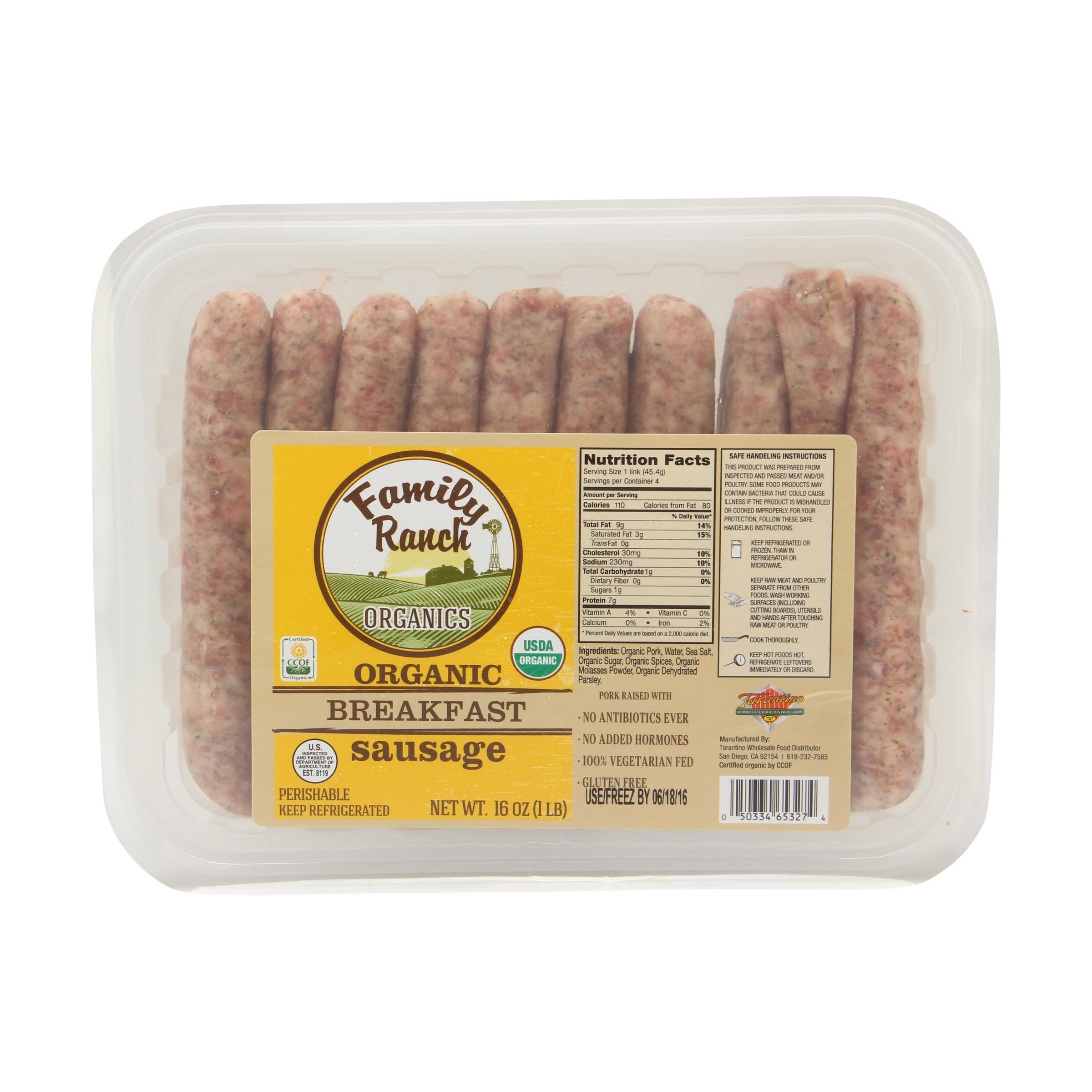 Bilinski'S Organic Chicken Sausage  Sage Project