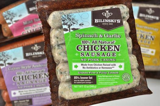 Bilinski'S Organic Chicken Sausage  AOA birthday drawing Brown s & Bilinski s