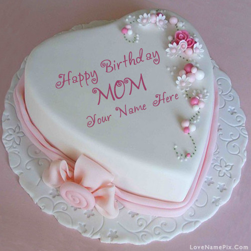 Birthday Cake For Mother  Happy Birthday Cakes With Name Editor line 10