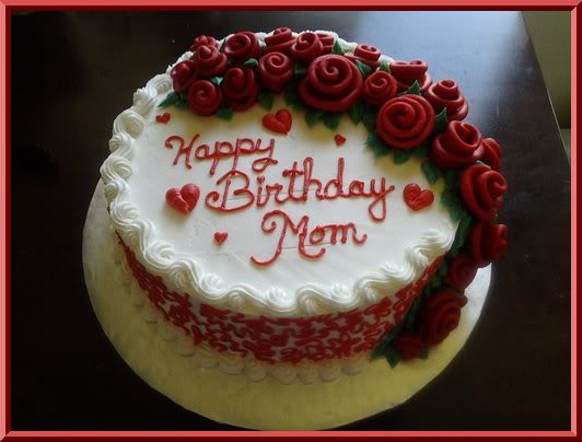 Birthday Cake For Mother  Mother Birthday Cake Cake Ideas