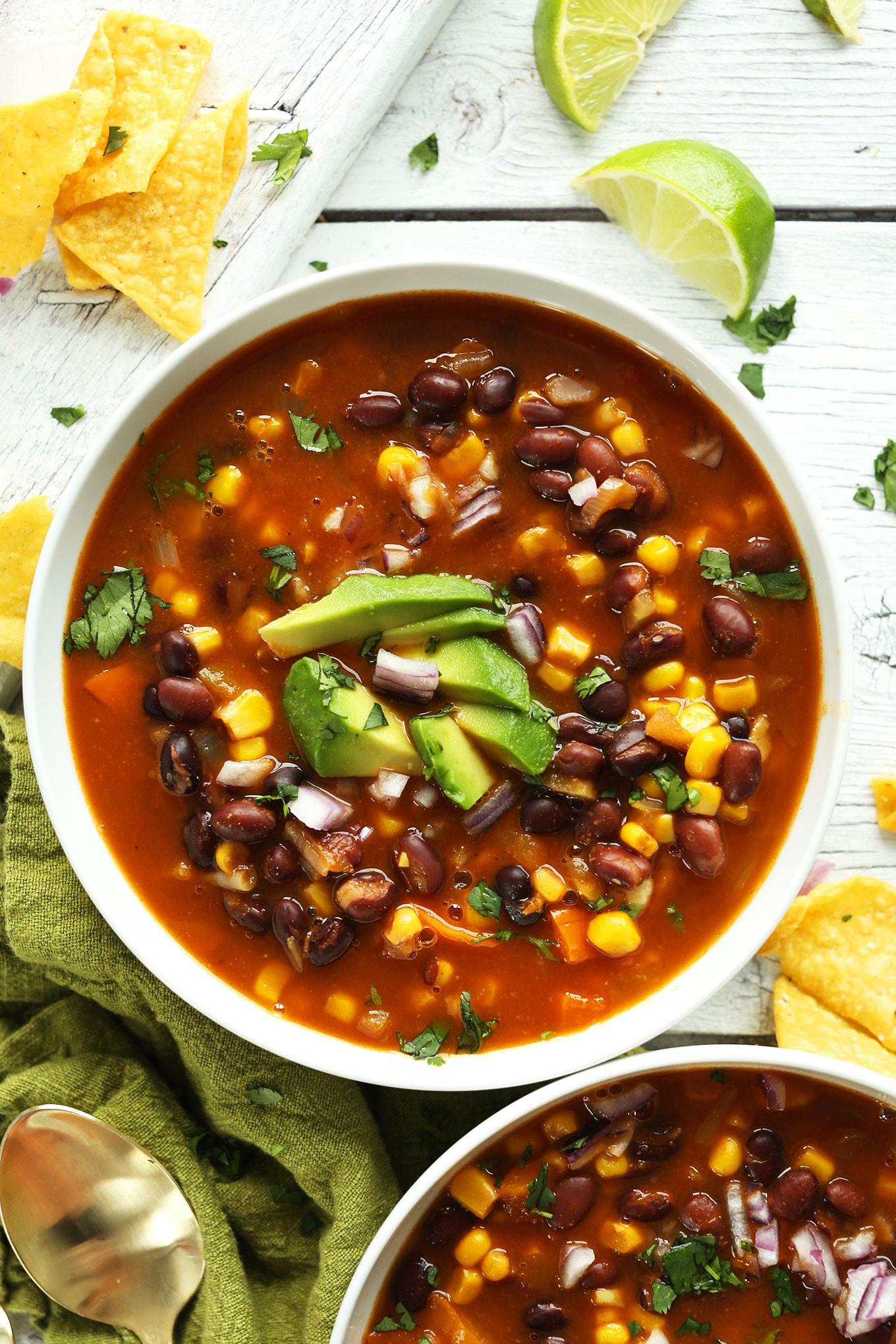 Black Bean Recipes Healthy  easy healthy black bean soup recipe