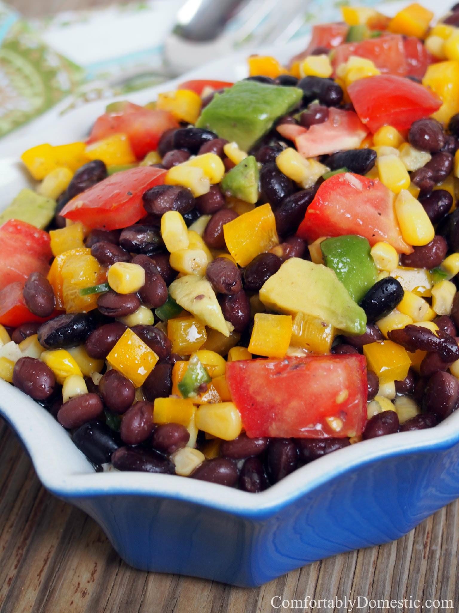 Black Bean Recipes Healthy  Black Bean Corn Salad Healthy Recipes fortably Domestic