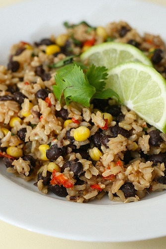 Black Beans And Brown Rice Healthy  Recipes Board brown rice with black beans