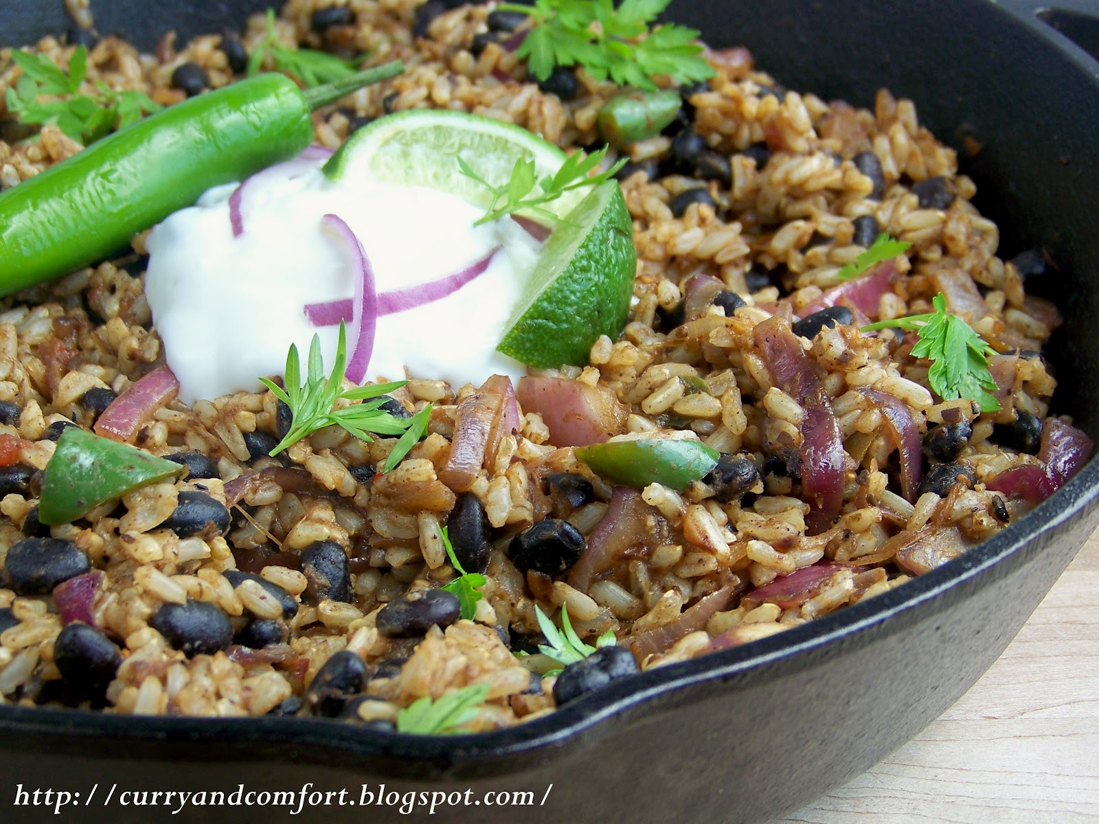 Black Beans And Brown Rice Healthy  Kitchen Simmer Black Beans and Brown Rice