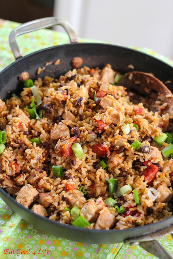 Black Beans And Brown Rice Healthy  No fuss Black beans chicken and rice