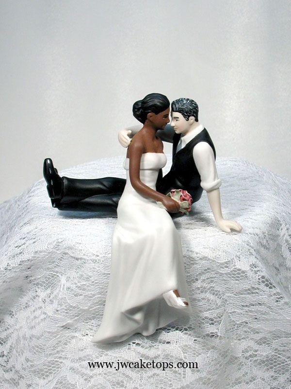Black Groom White Bride Wedding Cake Toppers  374 best Wedding Cake Toppers Glasses Cake Knife Servers
