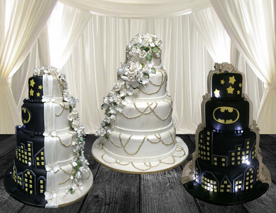 Black White Wedding Cake  Black & White Wedding Cake CakeCentral