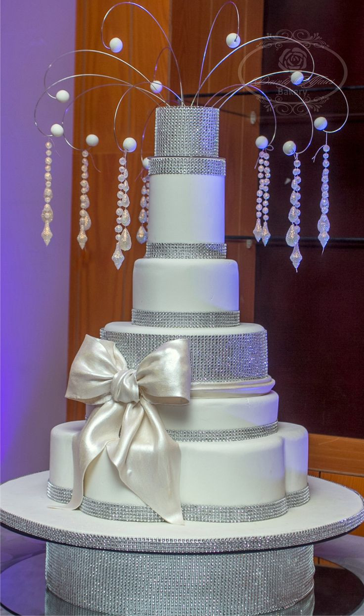 Blinged Out Wedding Cakes  Blinged out Wedding cake Cakes