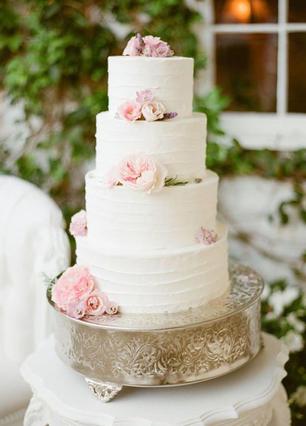 Blush Pink Wedding Cakes  2016 Rose Quartz Blush Pink Wedding Dresses Archives