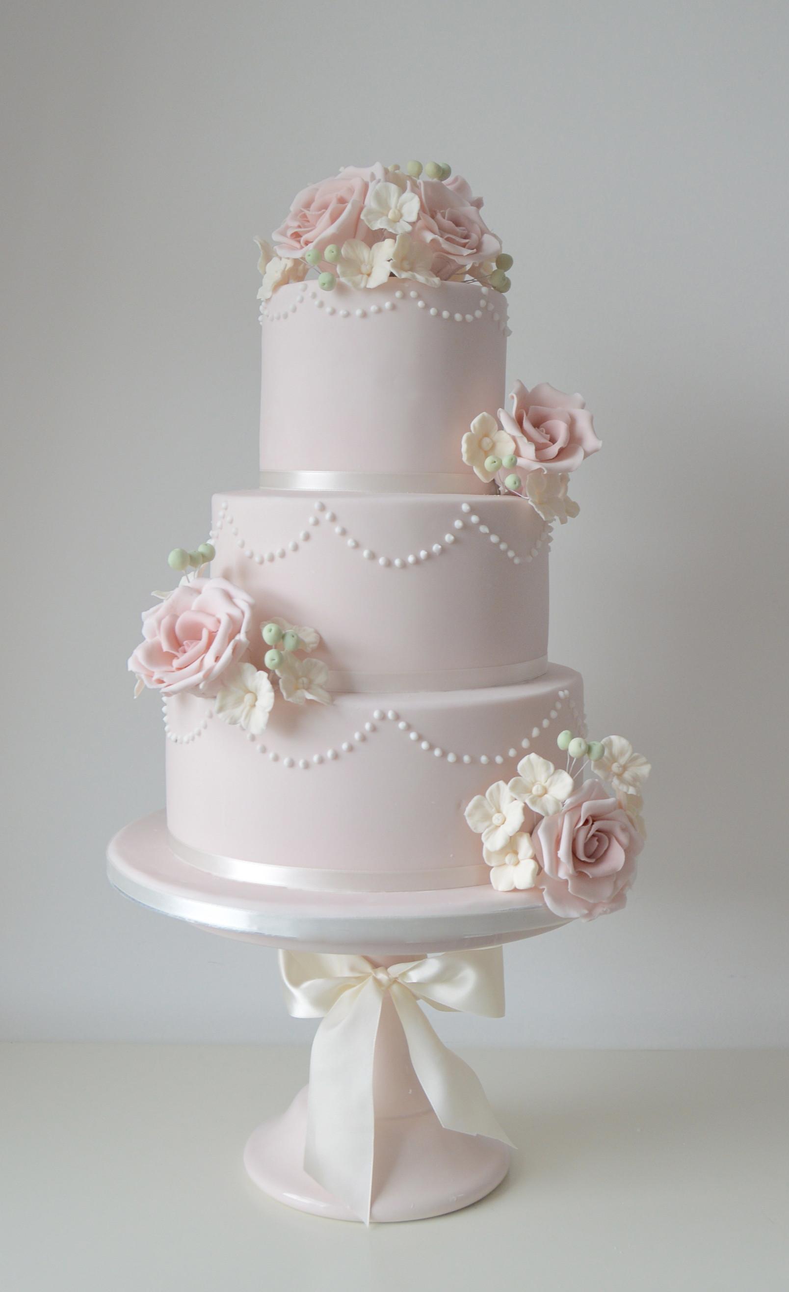 Blush Pink Wedding Cakes  Blush pink wedding cakes idea in 2017