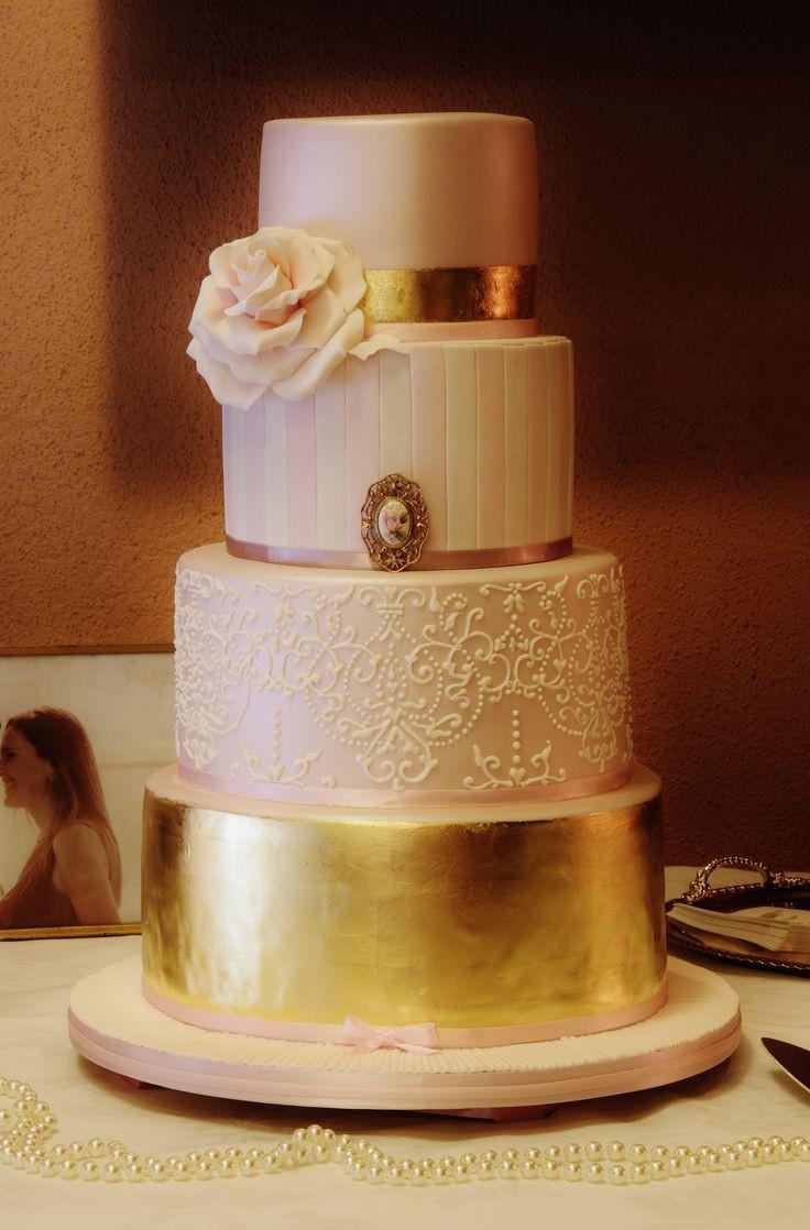Blush Pink Wedding Cakes  Blush pink wedding inspiration ideas
