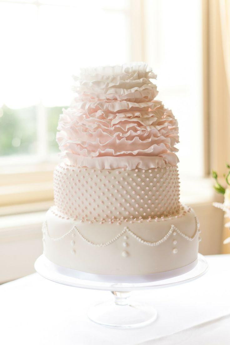 Blush Pink Wedding Cakes  Blush Wedding Blush Pink Wedding Weddbook