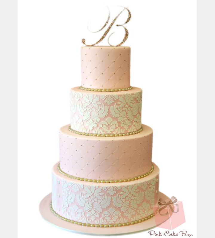 Blush Pink Wedding Cakes  Blush Wedding Cakes for the Discriminating Bride Mon