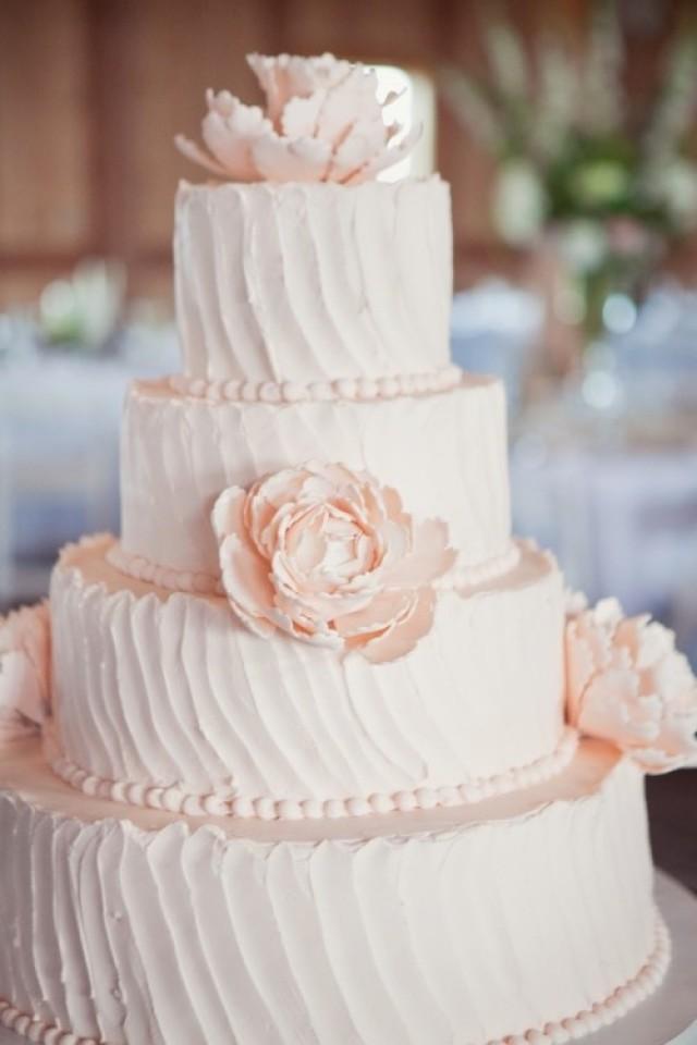 Blush Pink Wedding Cakes  Wedding Lights Light Pink Wedding Cake Weddbook