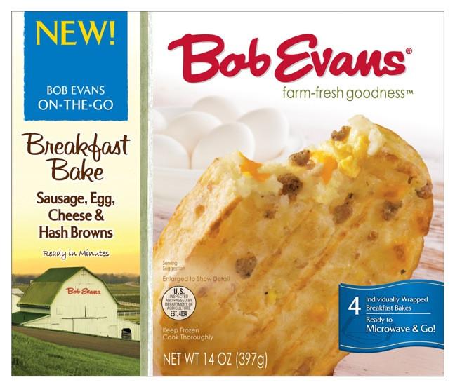 Bob Evans Healthy Breakfast  Bob Evans Rolls Out Hand Held Breakfast Bakes