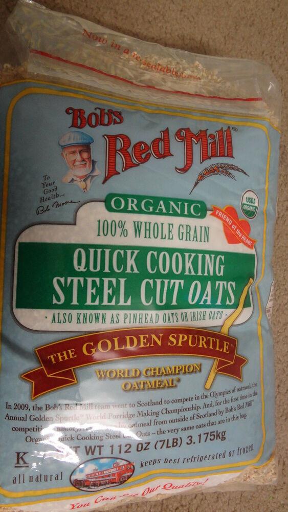 Bob's Red Mill organic Steel Cut Oats the Best Sealed Bob S Red Mill organic whole Grain Steel Cut