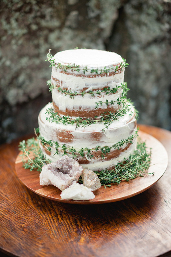 Bohemian Wedding Cakes  Wild earth bohemian wedding ideas Natural wedding