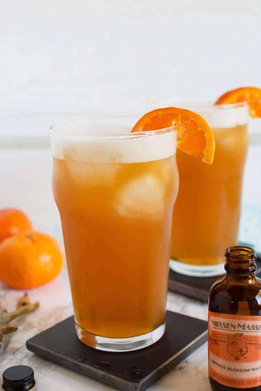 Bourbon Drinks For Summer  Orange Bourbon Beer Cocktail Summer Drink Idea