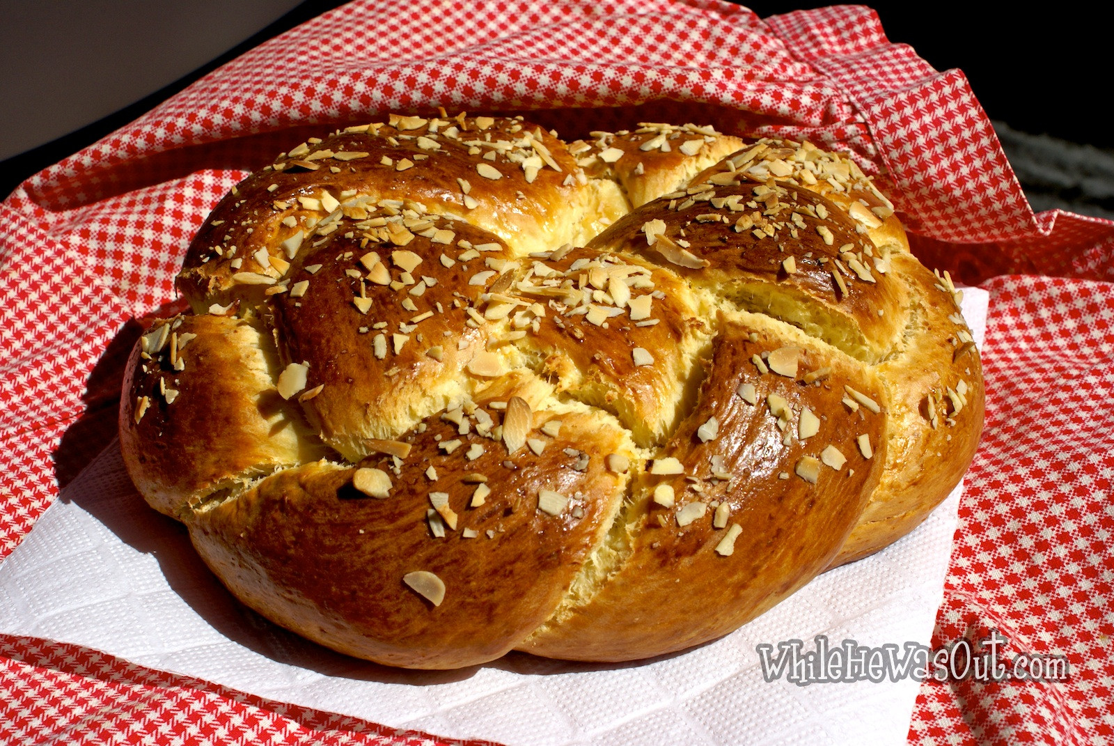 Braided Easter Bread  Traditional Easter Braided Sweet Bread – 2