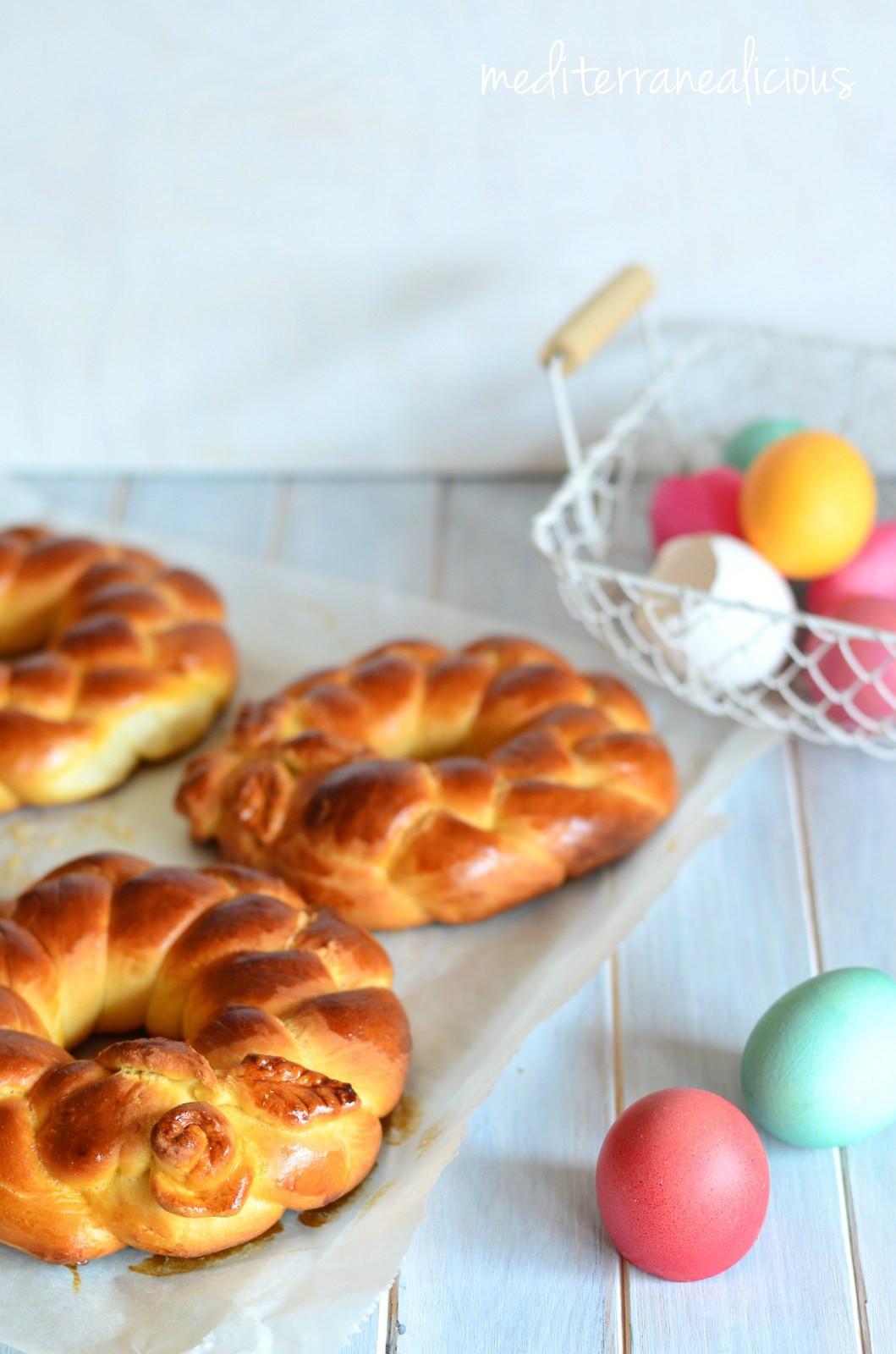 Braided Easter Bread  Cuddura My Family s Braided Easter Bread
