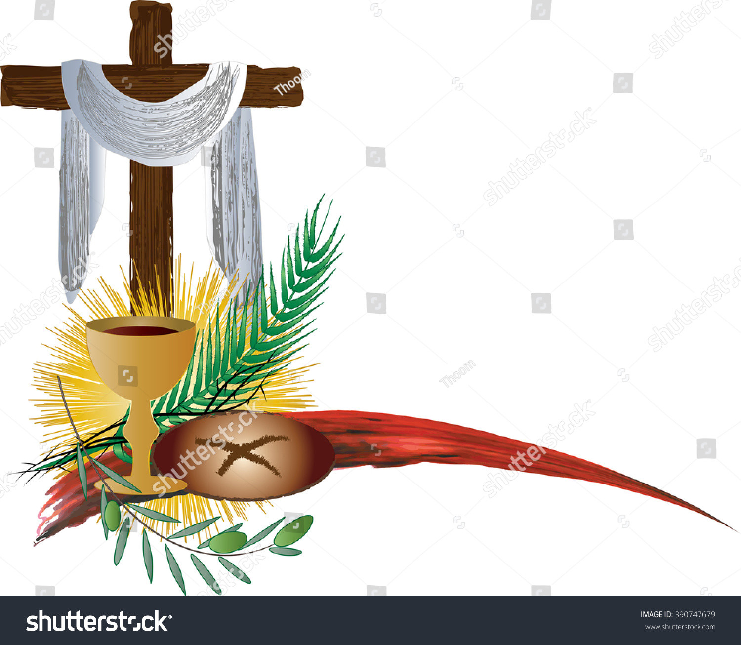 Bread And Wine Readings For Lent And Easter  Eucharist Symbols Bread And Wine With The Symbols