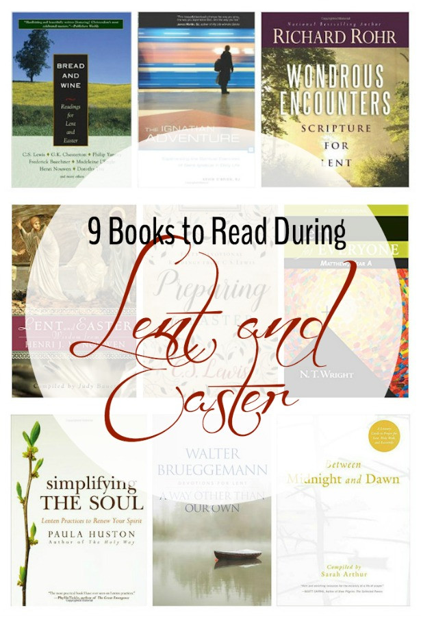 Bread And Wine Readings For Lent And Easter  9 Books to Read During Lent Ad Zierman