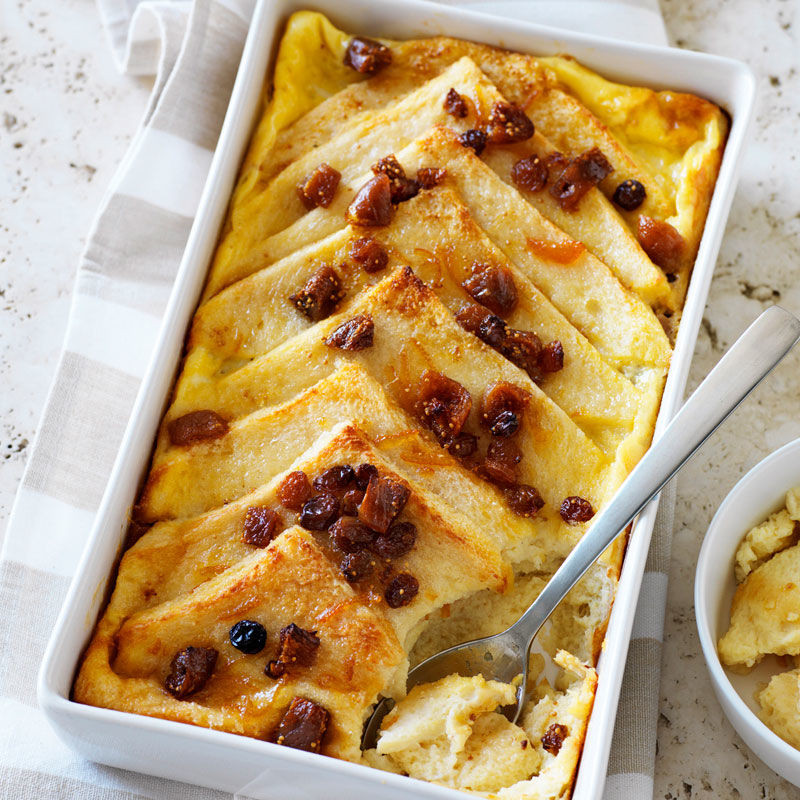 Bread Pudding Healthy  Fig bread and butter pudding Healthy Recipe
