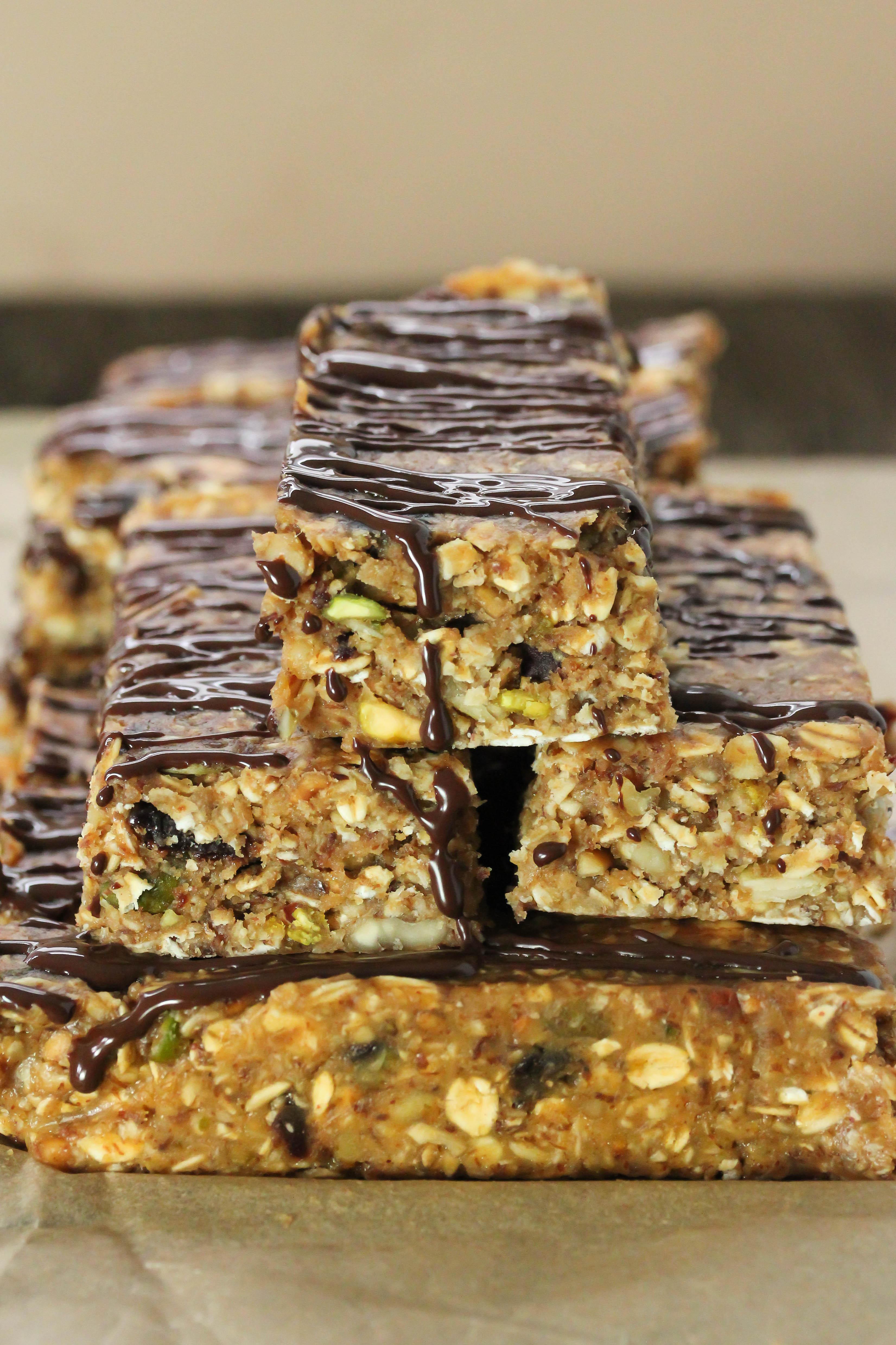 Breakfast Bars Healthy  No bake breakfast bars Gluten free vegan