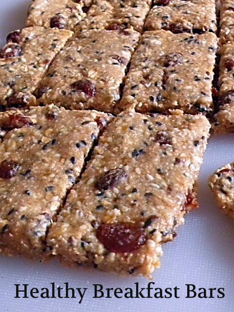 Breakfast Bars Healthy  TREAT & TRICK HEALTHY BREAKFAST BARS