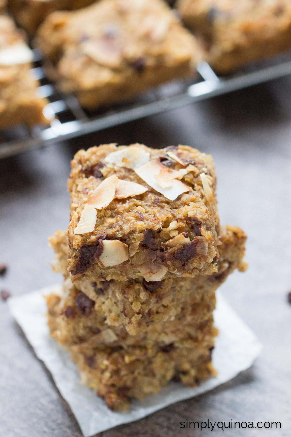 Breakfast Bars Healthy  Simple Quinoa Breakfast Bars